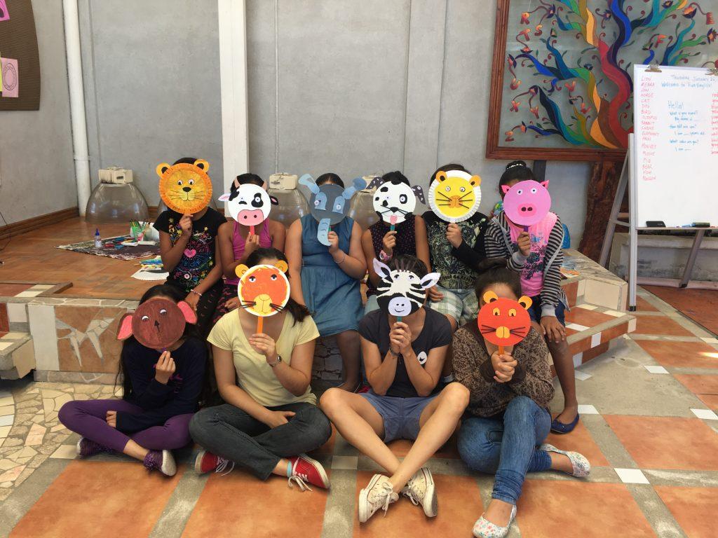 Taller de máscaras