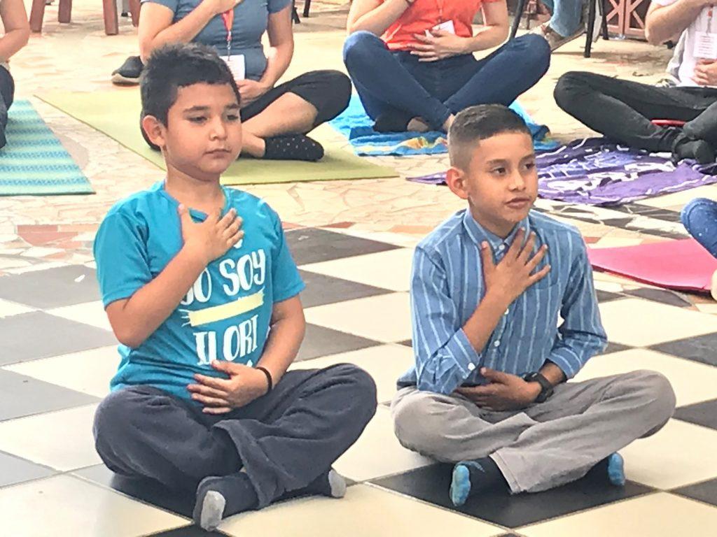 Yoga con donantes 2